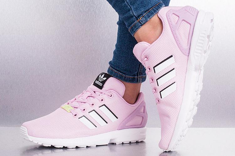 Buty Adidas ZX Flux BY9826 FropnkFtwwhtFtwwht | Obuwie