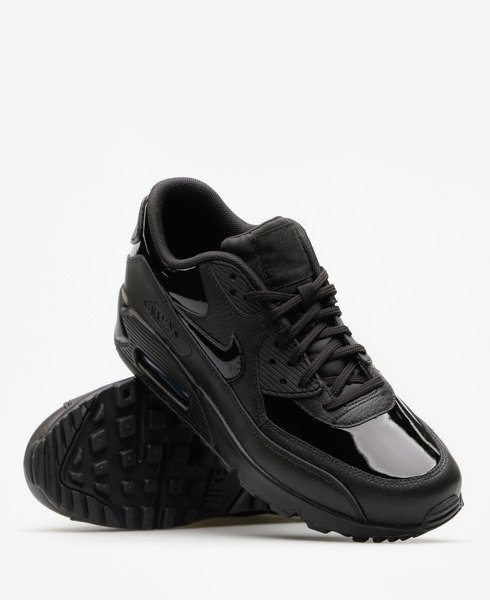 buty nike air max wmns black leather