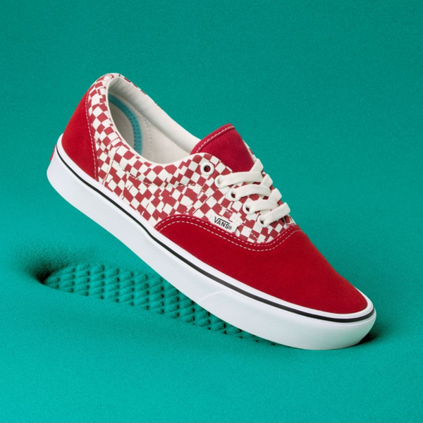 BUTY VANS COMFYCUSH ERA (Tear Check) Racing RedTrue White