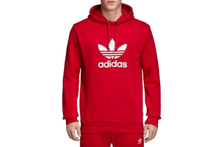 Bluza Adidas Trefoil Hoodie ADICOLOR (DX3614) Red