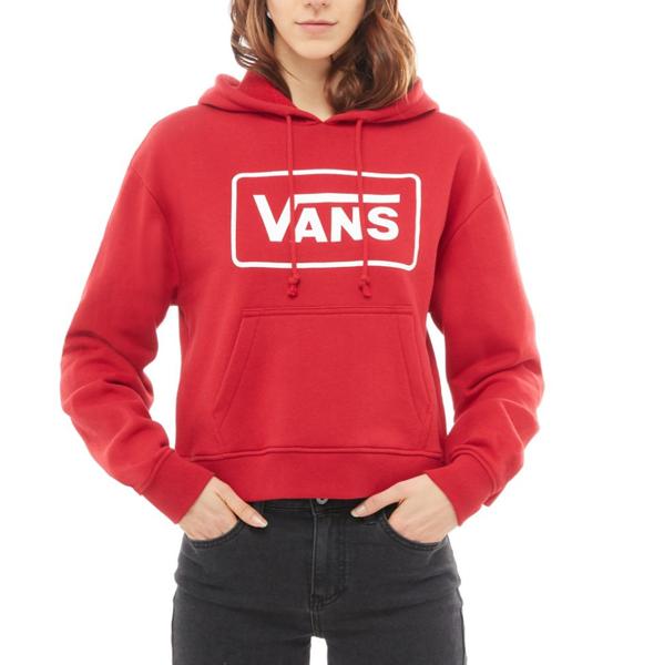 przystępna cena zasznurować Cena obniżona Bluza Vans z Kapturem BOOM BOOM VA3PCKYFO red