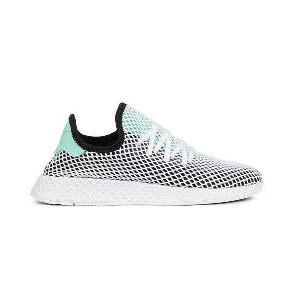 outlet store 23a6f 3f9e9 Buty Adidas Deerupt Runner (B28076) Core BlackEasy GreenWhite  Obuwie   Męskie  Street Colors