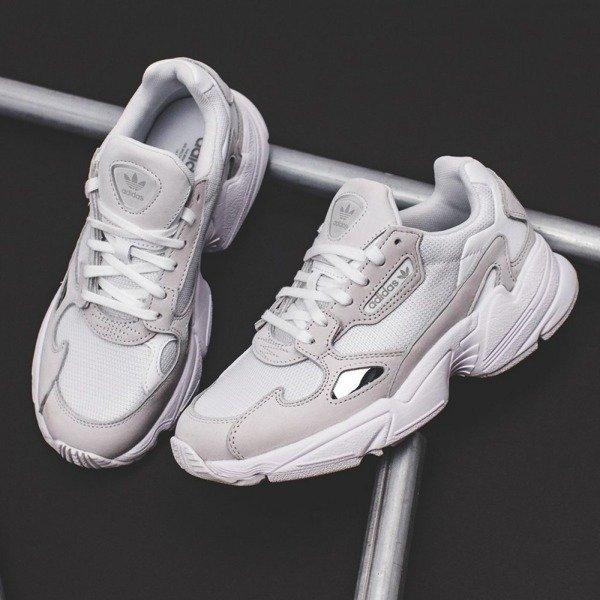 Buty Adidas Falcon W (B28128) Triple White | Obuwie