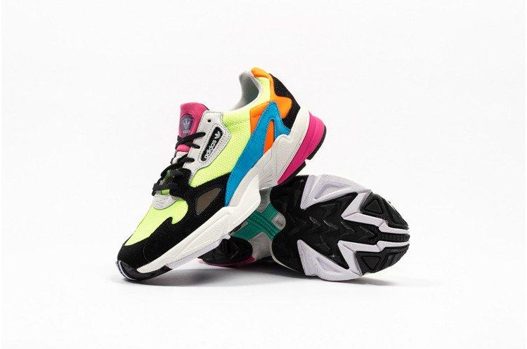 buy popular ddf66 1b5ab Buty Adidas Falcon W (CG6210) Neon Black