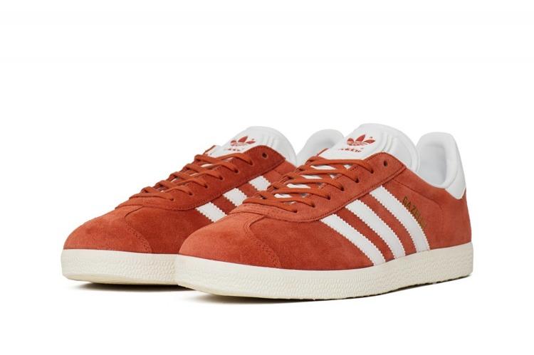 buty adidas gazelle maroon