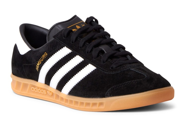 check out 258bd 56b6f Buty Adidas Hamburg S76696 Core BlackWhiteGum
