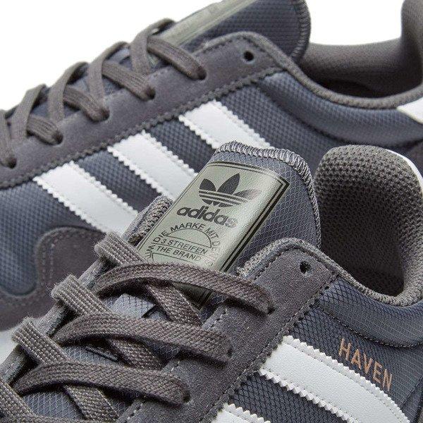 Buty Adidas Haven BY9715 Grey FiveWhite | Obuwie  M?skie