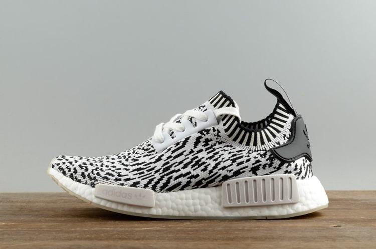 Buty Adidas Originals Adidas NMD_R1 Primeknit BZ0219 Zebra