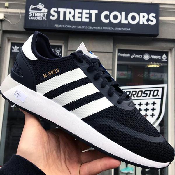 buty adidas originali n 5923 iniki runner cls cq2337 nucleo nero