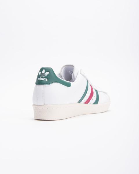 Buty Adidas Superstar 80S CQ2654 Ftw WhiteCollegiate Green