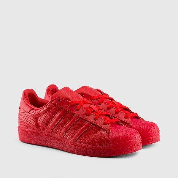 gorące nowe produkty nowy przyjeżdża buty sportowe Buty Adidas Superstar Adicolor S80326 (Scarlet red/red ...