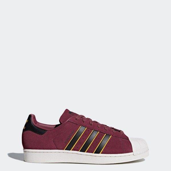super jakość zamówienie najlepiej sprzedający się Buty Adidas Superstar (CM8079) Red Core Black Yellow Adiprene