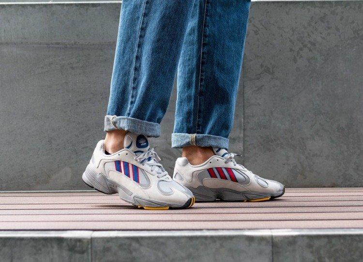 Buty Adidas YUNG 1 (CG7127) GREY TWOCOLLEGIATE ROYAL