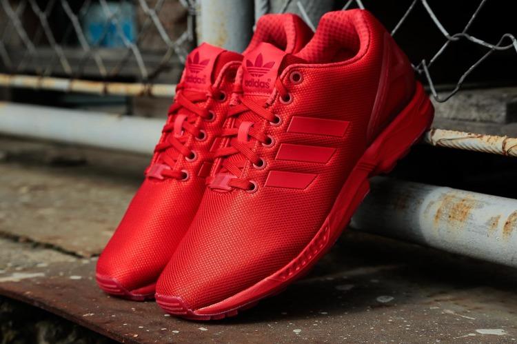 Buty Adidas ZX Flux AQ3098 (RedRed)   Obuwie  Męskie