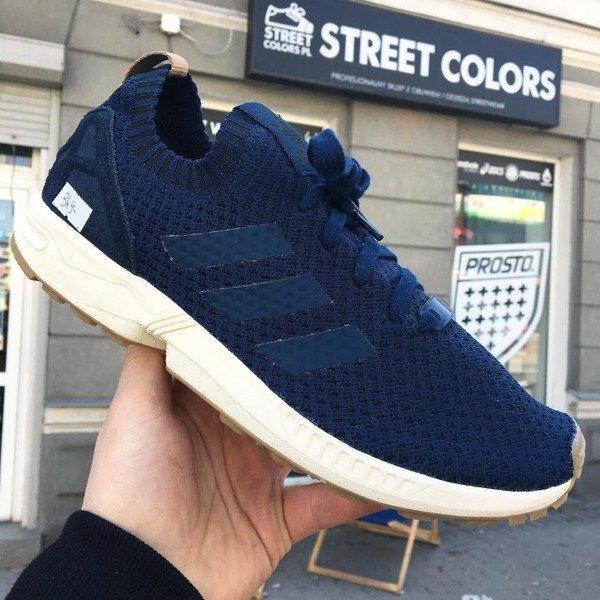 buty adidas zx flux primeknit core black gum
