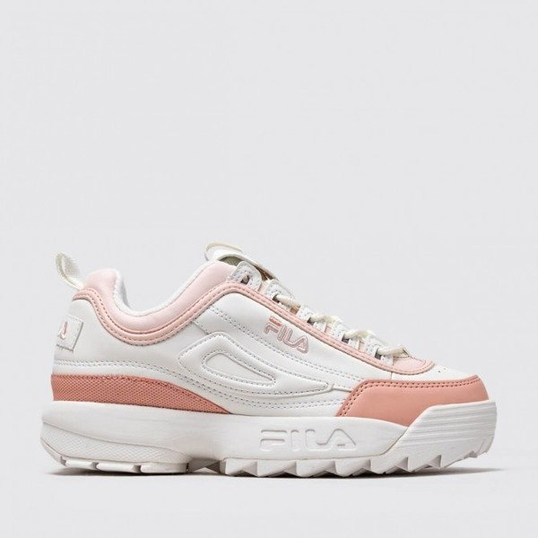 Buty Fila DISRUPTOR CB LOW WMN MARSHMALLOWSALMON (1010604