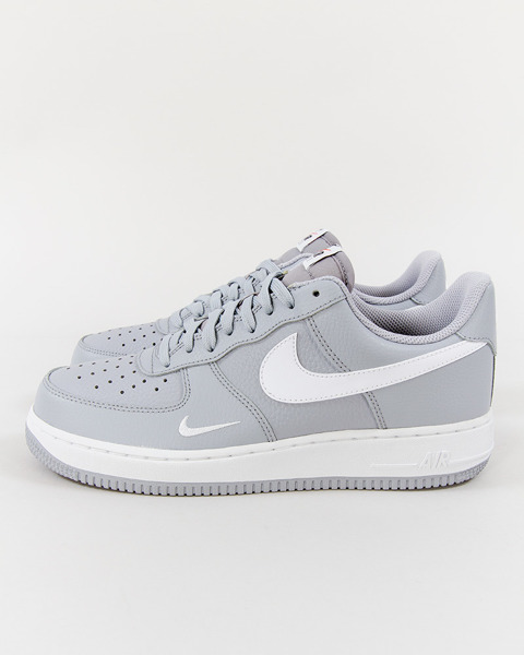 new products 8c885 239a2 Buty Nike Air Force 1 820266-018 MINI SWOOSH greywhite