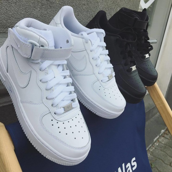 new concept 9b09e 30f67 Buty Nike Air Force 1 MID gs 314195-113