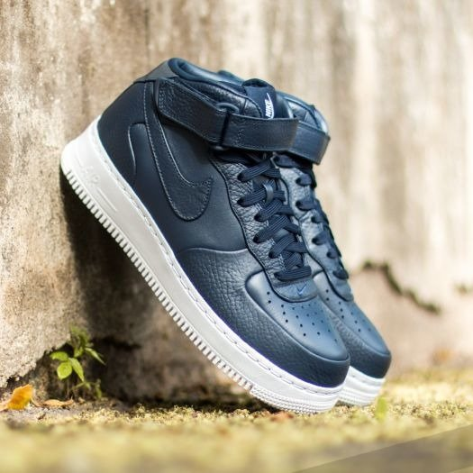 NIKE AIR FORCE 1 MID '07 OBSIDIAN