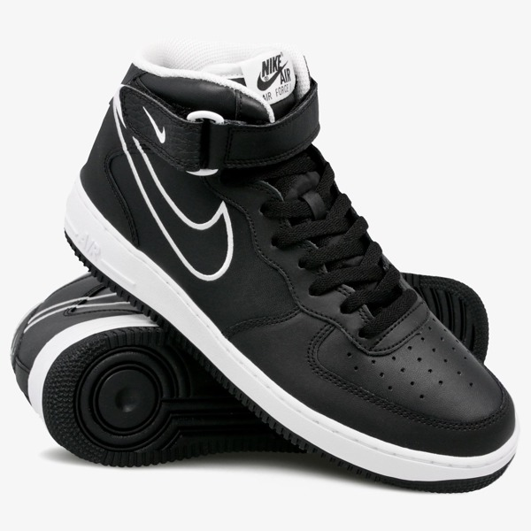 Buty Nike Air Force 1 Mid '07 AQ8650 001 BlackWhite