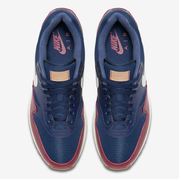 promo code f29e5 e5718 Buty Nike Air Max 1 (AH8145-400) Navy Sail-Team Red-Sail