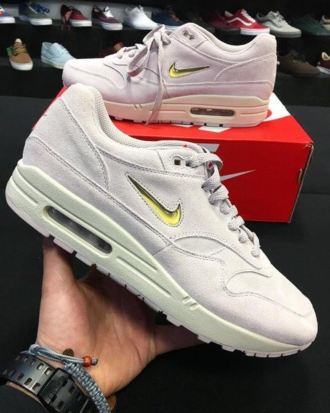best website 2abdd ae682 Buty Nike Air Max 1 Premium SC Jewel (918354-601) Particle Rose