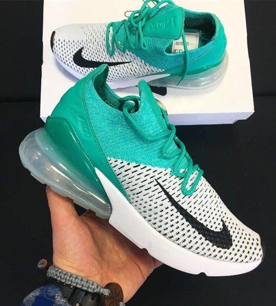Buty Nike Air Max 270 Flyknit (AH6803 300) Clear Emerald
