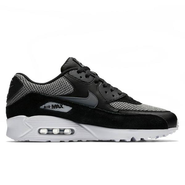 Buty Nike Air Max 90 Essential 537384 075 Blackgreywhite