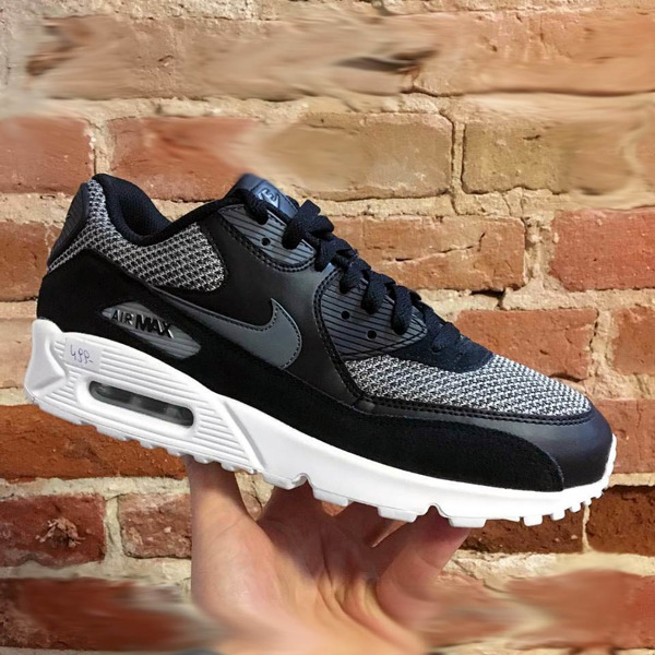 hot sale online f4b65 3c37d Buty Nike Air Max 90 Essential 537384-075 Blackgreywhite