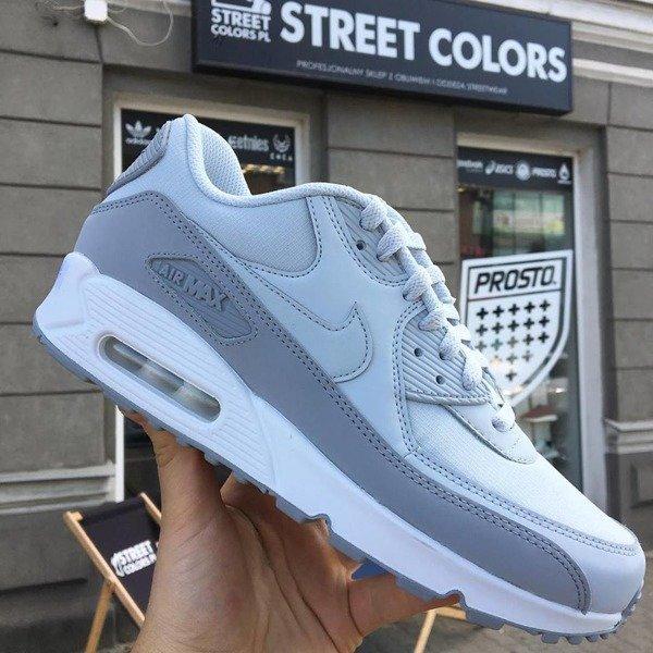 Shoes NIKE Air Max 90 Essential 537384 088 Wolf GreyPure PlatinumWhite