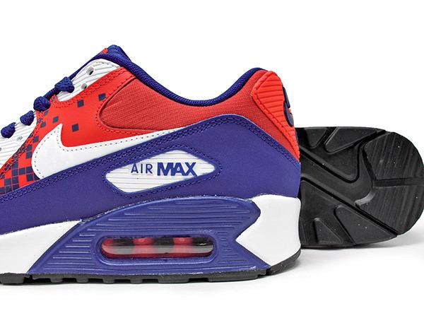 Buty damskie nike air max 90 mesh (gs) 833340 401 Zdjęcie