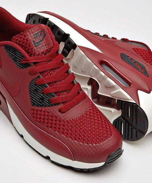 Nike Air Max 90 BlackGreyNeon Red AJ1285 012