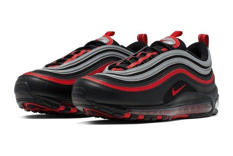 Buty Nike Air Max 97 (921826 014) BLACKUNIVERSITY RED