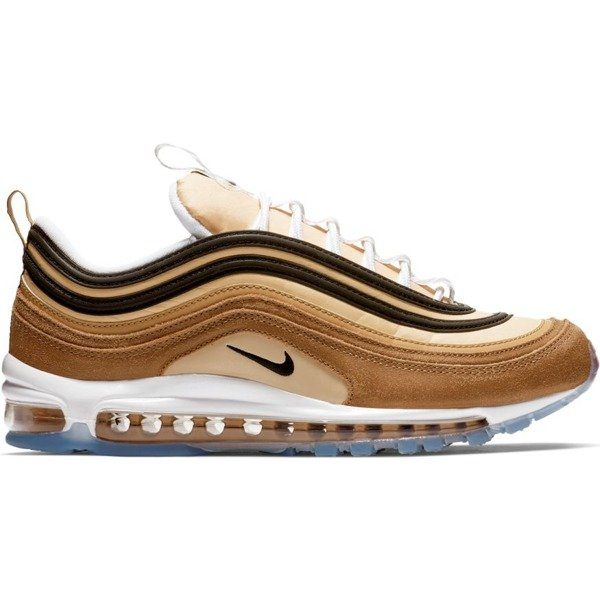 Buty sneakers Nike Air Max 97 ale brown black elemental gold (921826 201)