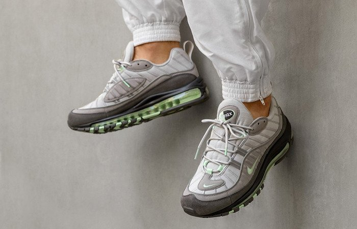 Nike Air Max 98 vast grey fresh mint atmosphere grey