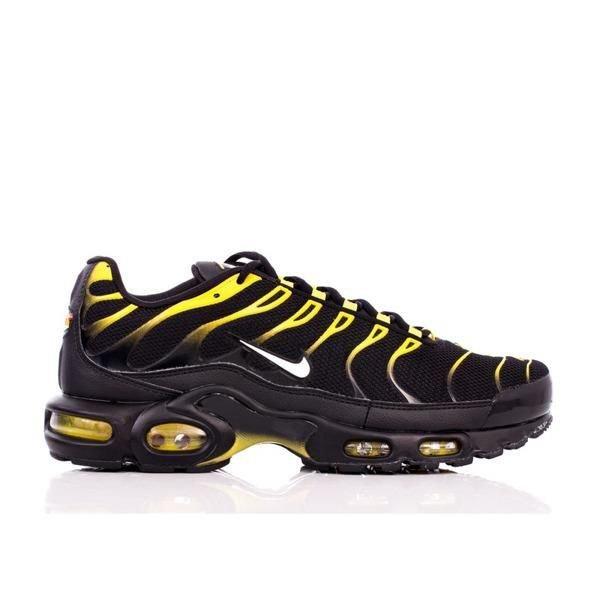 buy online 6fa81 42a23 Buty Nike Air Max Plus (852630-020) black  white - vivid sulfur  Obuwie   Męskie  Street Colors