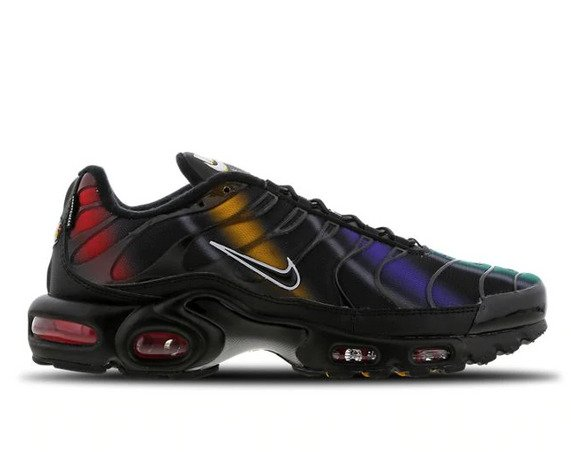 Buty Nike Air Max Plus TN (918240 023) BLACKFLASH CRIMSON