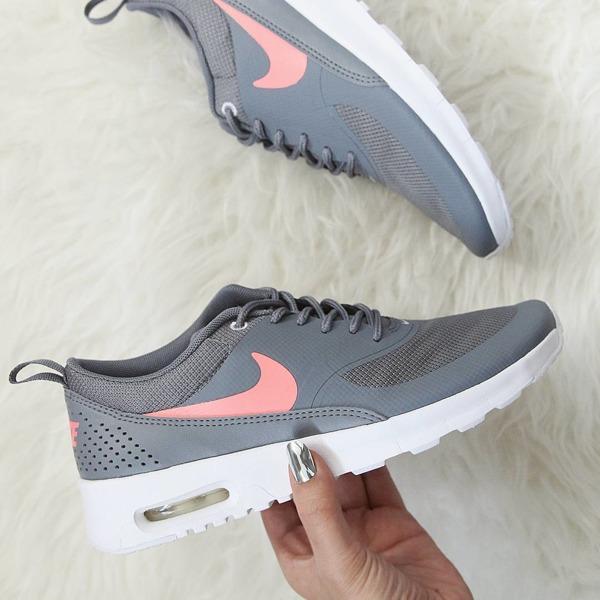 Buty Nike Air Max Thea GS 814444 007 Cool GreyLava Glow