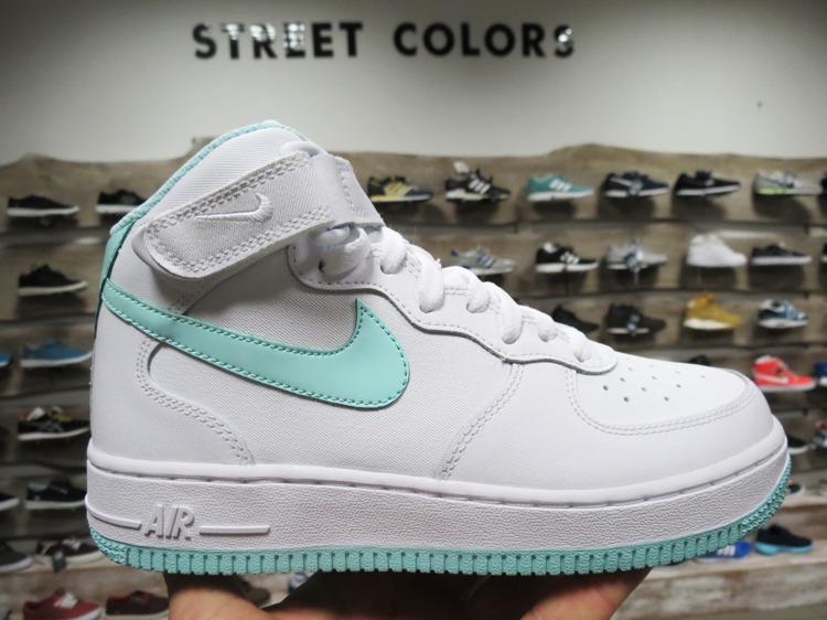 meet 2cdbe c501b Buty Nike Air force 1 Mid GS 518218-107 | Obuwie \ Damskie | Street Colors