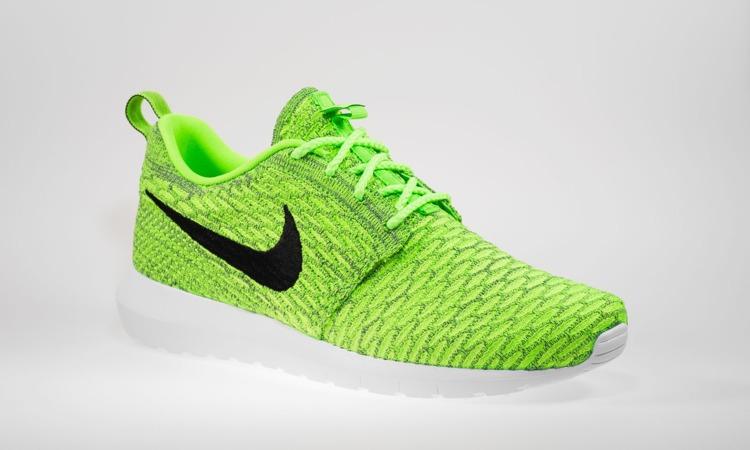 huge selection of 323ba 63854 Buty Nike Roshe NM Flyknit 677243-700 Green | Obuwie \ Męskie ...