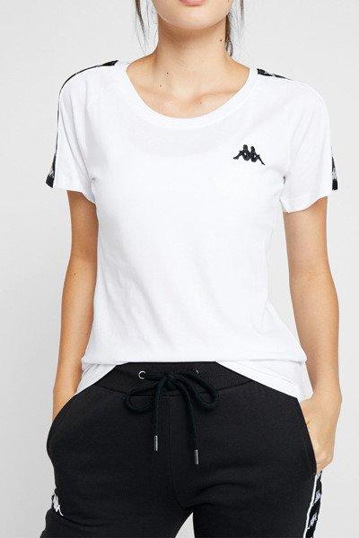 nowe niższe ceny super tanie dobra obsługa Koszulka Kappa FIRMA (306045-0601) BRIGHT WHITE