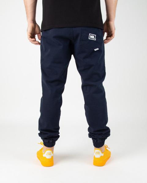 Spodnie New Bad Line Jogger ICON NAVY | Odzież  Męska