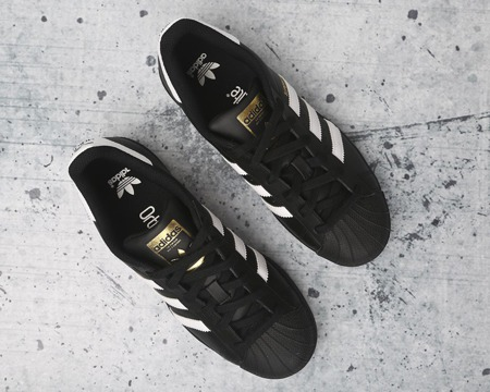 Adidas Superstar J Foundation B23642 (Core Black)