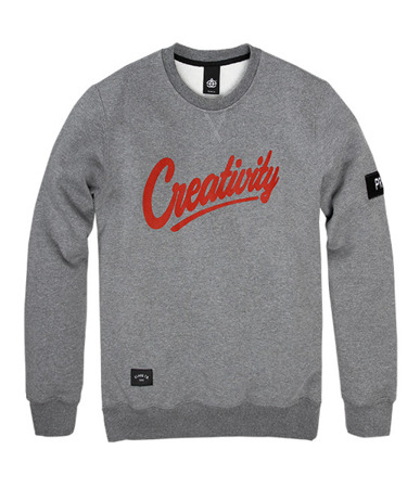 Bluza ELADE Creativity grey