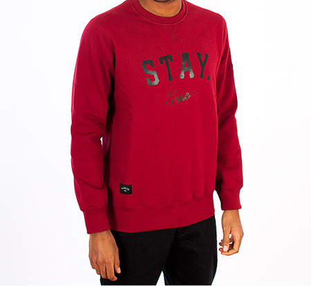 Bluza Elade Stay True bordo