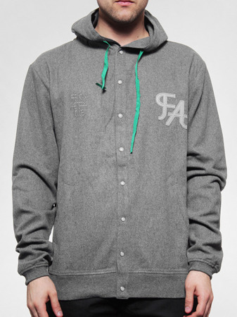 Bluza Fenix Baseball grey