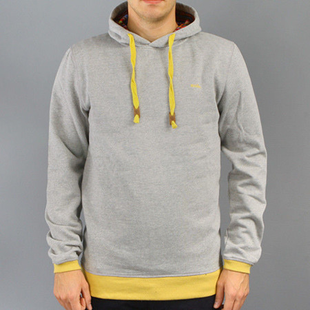 Bluza Malita Simple Hood Grey