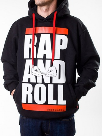 Bluza One 2 Pablo Rap and Roll black