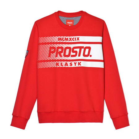 Bluza Prosto FOOTBALL red