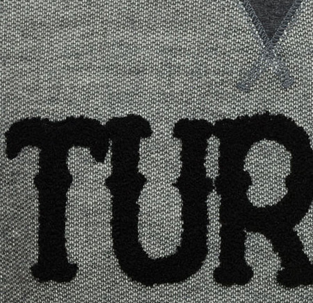 Bluza Turbokolor Crewneck Graphite